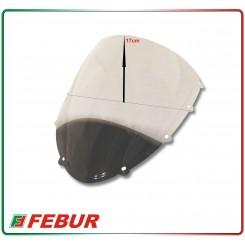 Cupolino plexiglass Febur rialzato trasparente Ducati 1098/848/1148/1198 2007-2010