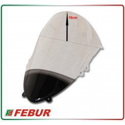 Cupolino plexiglass Febur rialzato trasparente Ducati 899 1199 Panigale 2012-2014