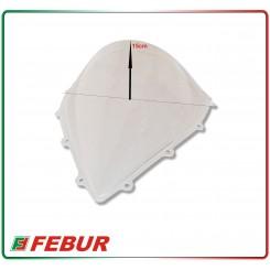 Cupolino plexiglass Febur rialzato trasparente MV Agusta F3 675 800 2012-2014