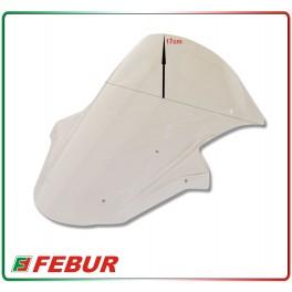 Cupolino plexiglass Febur rialzato trasparente Kawasaki ZX-10R 2011-2014