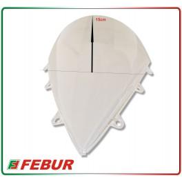Cupolino plexiglass Febur rialzato trasparente Honda CBR 1000 RR 2012-2014