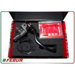 Brembo pompa freno radiale 19x18 19x20 RCS con tubo di raccordo e switch