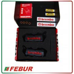 Pinze Brembo M4 100mm anodizzate nere Aprilia Bmw Benelli Ducati Ktm Mv Agusta