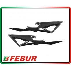 Coppia fianchetti sotto serbatoio carbonio Ducati 848 1098 1198