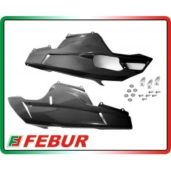 Coppia semicarene inferiori carbonio Ducati 848 1098 1198