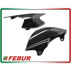 Coppia fianchetti posteriori in carbonio Ducati Hypermotard 796 1100