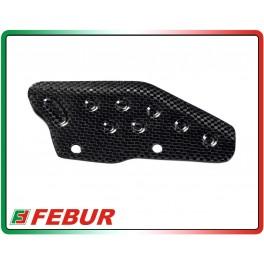 Piastrino paracatena carbonio Ducati Hypermotard 796 1100