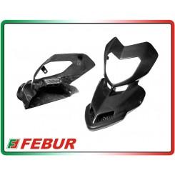 Maschera becco frontale carbonio Ducati Hypermotard 796 1100
