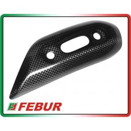 Coppia protezione silenziatori lunghi in carbonio Ducati Monster 696 796 1100 2010-2014