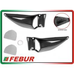 Coppia prese aria maggiorate in carbonio Ducati Streetfighter 848 1100 2008-2014