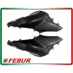 Coppia fianchi serbatoio laterali in carbonio Ducati Multistrada 1200 2010-2014