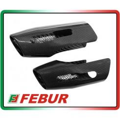Coppia cover silenziatori in carbonio Ducati Multistrada 1200 2010-2014