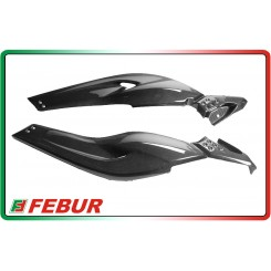 Coppia boomerang laterali in carbonio Yamaha T-Max 500 2008-2011