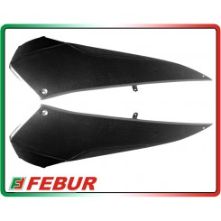 Coppia puntale in carbonio Yamaha T-Max 500 2008-2011