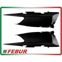 Fiancate posteriori con fori maniglioni in carbonio Yamaha T-Max 500 2008-2011