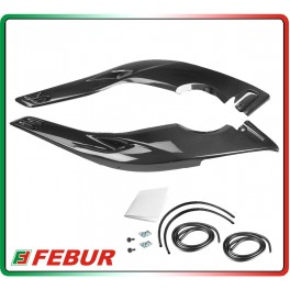 Coppia boomerang laterali in carbonio Yamaha T-Max 500 2001-2007