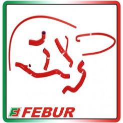 Kit tubi siliconici radiatore acqua con rimuovi valvola Samco Ducati 848 2008-2011