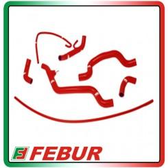 Kit tubi siliconici radiatore acqua con rimuovi valvola Samco Ducati 1098 2007-2009