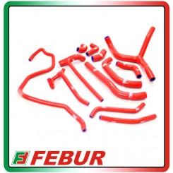 Kit tubi siliconici radiatore acqua Samco Ducati Diavel 2011-2014