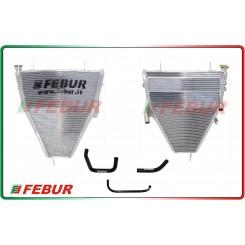 Radiatore maggiorato completo acqua+olio racing Honda CBR 1000 RR 08-15