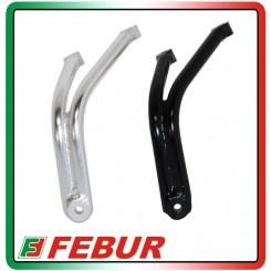 Staffa supporto scarico marmitta alluminio Aprilia RSV4 09-14
