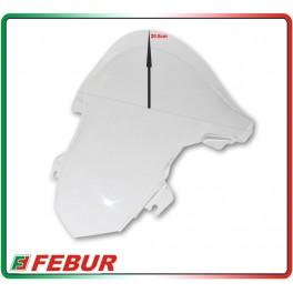 Cupolino plexiglass Febur rialzato trasparente BMW S1000RR 2009-2014