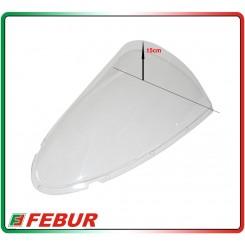 Cupolino plexiglass Febur rialzato trasparente Ducati 749 999 2003-2004