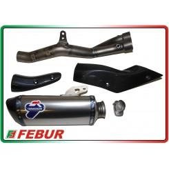 Complete titanium exhaust system Termignoni Yamaha R1 R1M 2015