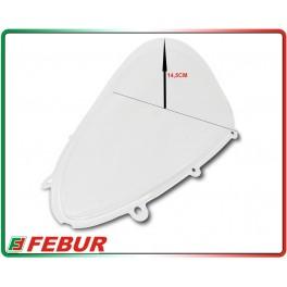 Cupolino plexiglass Febur rialzato trasparente Aprilia RSV4 2015
