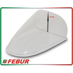 Cupolino plexiglass Febur rialzato fume' chiaro Ducati 748 916 996 998