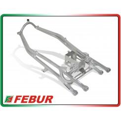 Telaietto posteriore con supporto batteria alluminio racing Honda CBR 600 RR 2007-2016