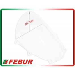 Plexiglass Febur increased transparent Suzuki GSX-R 1000 2017