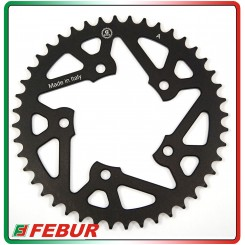 Ergal ultra light rear sprocket Gandini Race 520 Aprilia Pegaso 650 2005-2010
