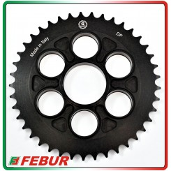 Ergal ultra light rear sprocket Gandini Race 520 Ducati Panigale 1199 1299 2012-2017