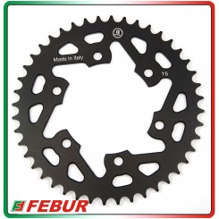 Ergal ultra light rear sprocket Gandini Race 520 Yamaha FZ6 2004-2010
