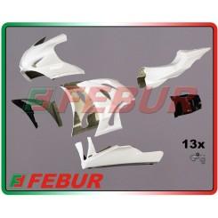 FIBERGLASS COMPLETE RACING FAIRING SUZUKI GSX-R 1000 2009-2015