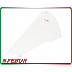 Cupolino plexiglass Febur rialzato trasparente Ducati Panigale V4 2018
