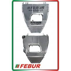 Radiatore maggiorato completo acqua + olio racing Ducati 899 1199 1299 Panigale 2012-2018