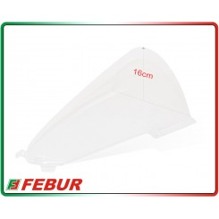 Cupolino plexiglass Febur rialzato trasparente Ducati Panigale V4/ V4S 2018-2019