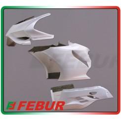 Carena anteriore vetroresina racing Ducati 899 1199 Panigale 2012-2015